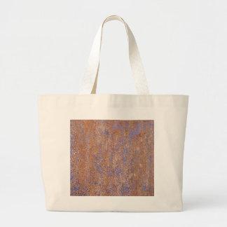Rouille bleue sacs en toile