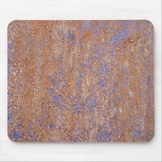 Rouille bleue tapis de souris