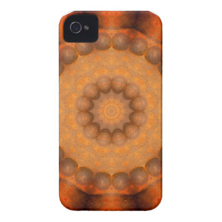 Rouille-Mandala, couleurs de Rust_744_3 Coques Case-Mate iPhone 4