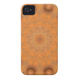 Rouille-Mandala, couleurs de Rust_843_2 Coques Case-Mate iPhone 4