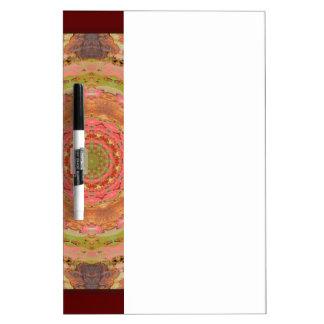 Rouillé-Mandala/Rost-Art Tableaux Blancs Effaçables À Sec