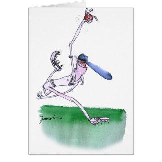 ROULANT - cricket, fernandes élégants Carte De Vœux