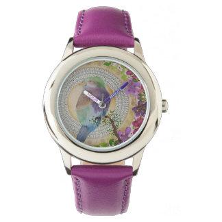 Rouleau breasted par lilas montres bracelet