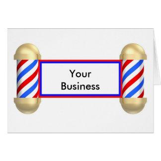 Rouleau de raseur-coiffeur cartes