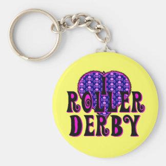 Rouleau Derby du coeur I Porte-clé Rond