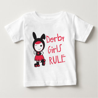 Rouleau Derby - règle de filles de Derby T-shirt