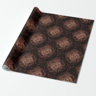 rouleau papier cadeau marron