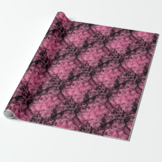 rouleau papier cadeau rose