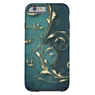 Rouleaux florentins d'or coque iPhone 6 tough