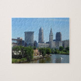 Roulement de Cleveland, Ohio sur le puzzle de