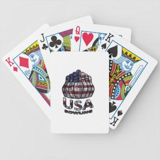 Roulement des Etats-Unis Jeu De Poker