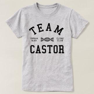 Roulette noire orpheline d'équipe t-shirt