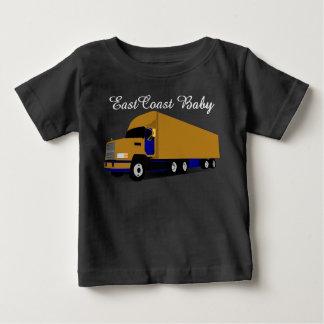 Rouleur du camion dix-huit de transport de bébé de t-shirt pour bébé