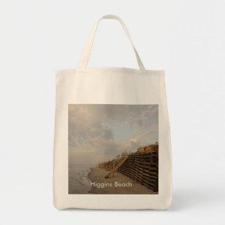 Route de naufrage de marée haute de plage de sac fourre-tout