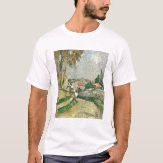 Route de village, 1879-82 (huile sur la toile) t-shirt