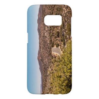 Route isolée de désert d'arbre de Joshua Coque Samsung Galaxy S7