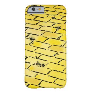 Route jaune vintage de brique de magicien d'Oz par Coque Barely There iPhone 6