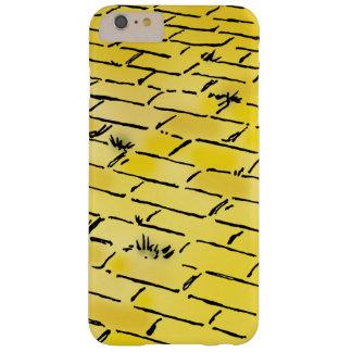 Route jaune vintage de brique de magicien d'Oz par Coque iPhone 6 Plus Barely There