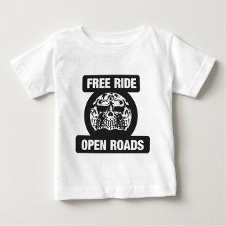 Routes ouvertes de tour gratuit t-shirt