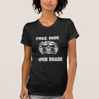 Routes ouvertes de tour gratuit t-shirts