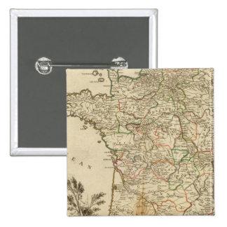 Routes postales de la France Badge