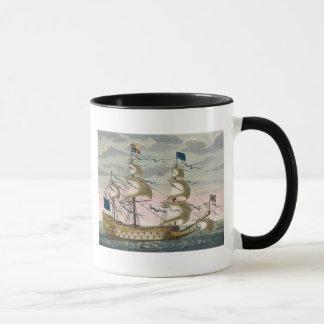 Royal (navire amiral) de la flotte anglaise, voler mug