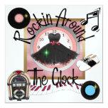 Royal une partie de Rockin - SRF Cartons D'invitation