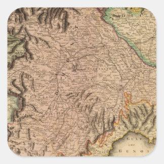 Royaume de la Sardaigne Autocollant Carré
