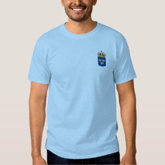 Royaume de Suède la chemise T-shirt