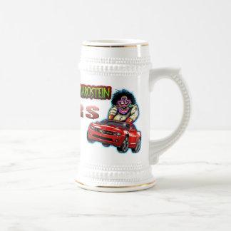 RS rouge Stein - blanc/or de Chevy Camaro Chope À Bière