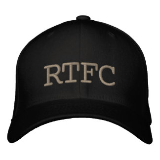 RTFC CASQUETTE BRODÉE