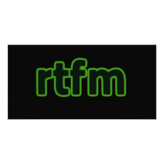 RTFM PHOTOCARTE