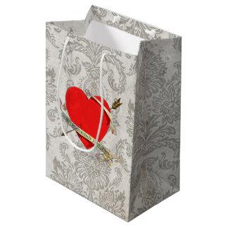 Ruban 1901 et flèche de Valentine Heartwith de cru Sac Cadeau Moyen
