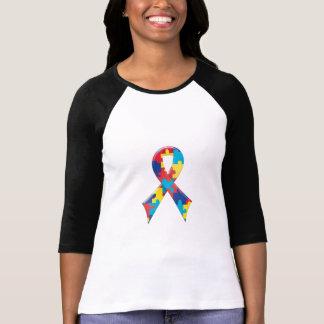 Ruban A4 de sensibilisation sur l'autisme T-shirt