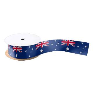 Ruban australien de drapeau ruban en satin