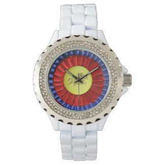 Ruban de concours hippique montres
