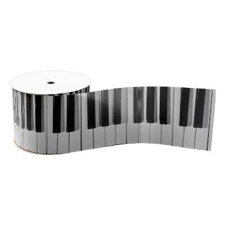 Ruban de coutume de clavier de piano ruban gros-grain