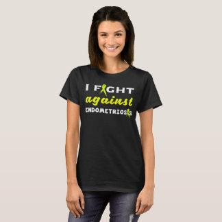 Ruban de jaune de conscience d'endométriose t-shirt