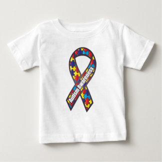 Ruban de sensibilisation sur l'autisme t-shirt pour bébé