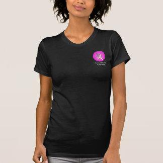 Ruban d'endométriose avec le papillon de framboise t-shirt