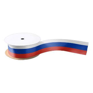 Ruban En Satin Drapeau de la Russie