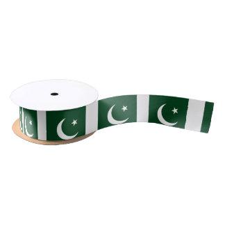 Ruban En Satin Drapeau du Pakistan