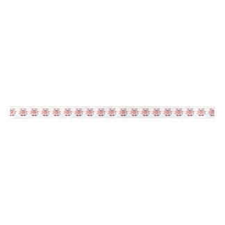 Ruban En Satin Gros porc rose