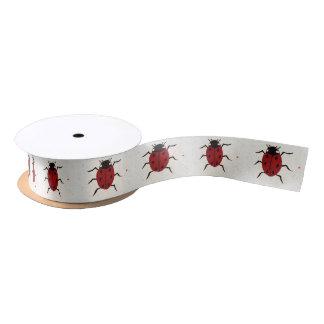 Ruban En Satin Ladybird