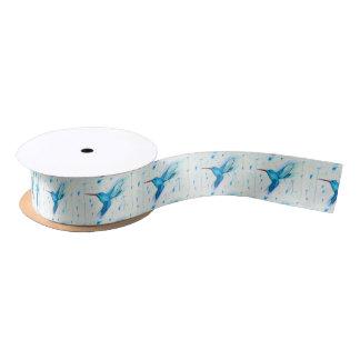 Ruban En Satin Papier de soie de soie de colibri