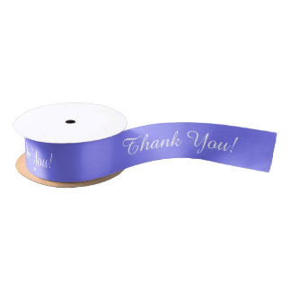 "Ruban En Satin RIBBON_ CHIC "" Merci !"" SOLIDE DE 171 BIGORNEAUX"