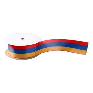 Ruban En Satin Ruban arménien de satin de drapeau
