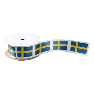 Ruban En Satin Ruban suédois de cadeau de drapeau pour la partie