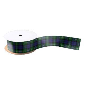 Ruban En Satin Tartan écossais de classique de Forbes de clan