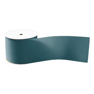 Ruban Gros-grain Couleur solide de bleu de paon (Teal foncé ou Aqua